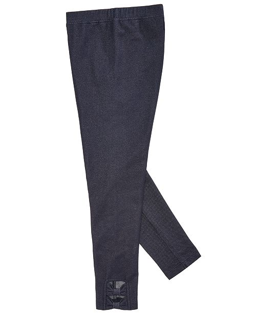 db1229ee4ba25 Epic Threads Big Girls Denim Bow Leggings, Created for Macy's ...