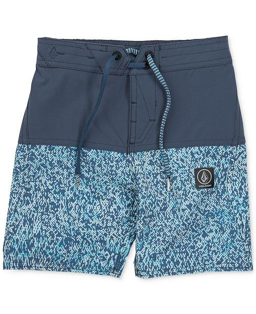 8583af2b82 Volcom Vibes Swim Trunks, Big Boys - Swimwear - Kids - Macy's