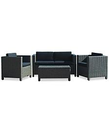 Listyn Outdoor Sofa Set, Quick Ship
