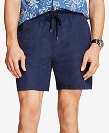 "Brooks Brothers Red Fleece Men's Seersucker 6"" Swim Trunk"