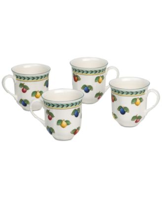 French Garden 4-Pc. Mug Set, Created for Macy's