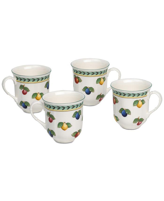 Villeroy & Boch - French Garden 4-Pc. Mug Set