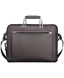 Tumi Men's Arrivé Hamilton Slim Leather Briefcase