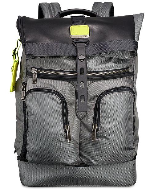 f297c31c06e Tumi Men s Alpha Bravo London Roll-Top Backpack   Reviews - All ...