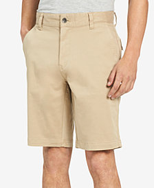 "Calvin Klein Jeans Men's 10.5"" Inseam Solid Brushed Shorts"