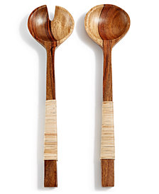 Lucky Brand 2-Pc. Wood Salad Server Set, Created for Macy's