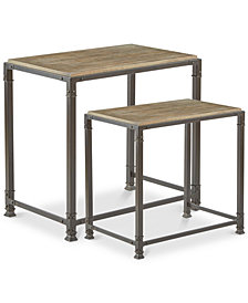 Cirque Nesting Table (Set Of 2), Quick Ship