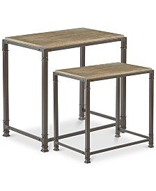 Cooper Nesting Table (Set Of 2), Quick Ship