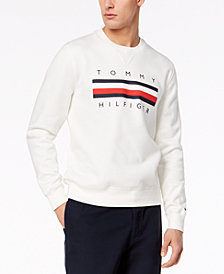 Tommy Hilfiger Men's Graphic-Print Logo Sweatshirt, Created for Macy's