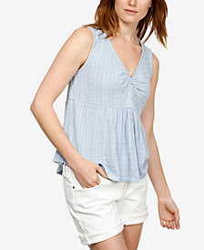 Lucky Brand Sleeveless Textured Top
