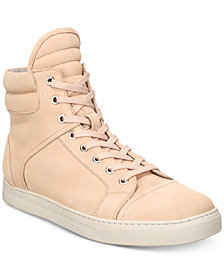 Kenneth Cole Men's Double Header Suede High-Top Sneakers