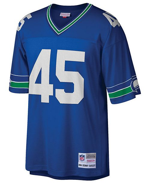 reputable site 9c26a 8967f Men's Kenny Easley Seattle Seahawks Replica Throwback Jersey