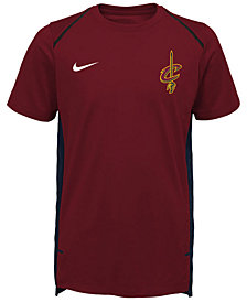 Nike Cleveland Cavaliers Hyper Elite Shooter T-Shirt, Big Boys (8-20)