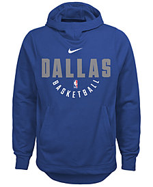 Nike Dallas Mavericks Elite Practice Hoodie, Big Boys (8-20)
