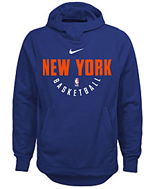 Nike New York Knicks Elite Practice Hoodie, Big Boys (8-20)