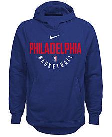 Nike Philadelphia 76ers Elite Practice Hoodie, Big Boys (8-20)