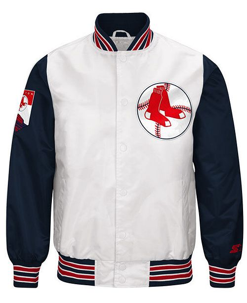 ... G-III Sports G-III Men s Sports Boston Red Sox The Legend Starter Jacket  ... ca8c0e5077