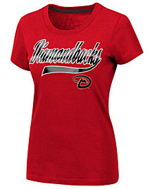 G-III Sports Women's Arizona Diamondbacks Script Foil T-Shirt
