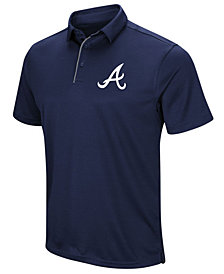 Under Armour Men's Atlanta Braves Tech Polo