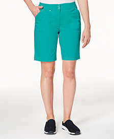 Karen Scott Petite Bermuda Shorts, Created for Macy's