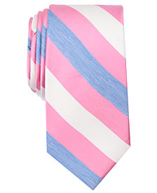 Nautica Men's Alma Stripe Silk Tie