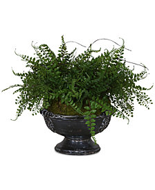 Uttermost Amberly Fern Centerpiece