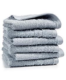 Martha Stewart Essentials 6-Pc Cotton Washcloth Set, Created for Macy's
