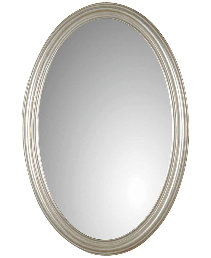 Uttermost - Franklin Oval Silver Mirror