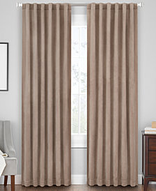 "Hudson Hill Velvet 50"" x 84"" Rod Pocket/Tab Top Window Panel"