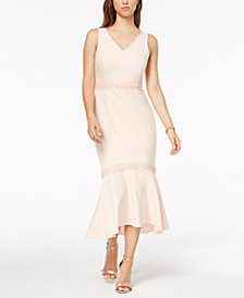 Nanette by Nanette Lepore Crochet-Trim Dress, Created for Macy's