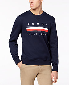 Tommy Hilfiger Men's Big & Tall Graphic-Print Sweatshirt