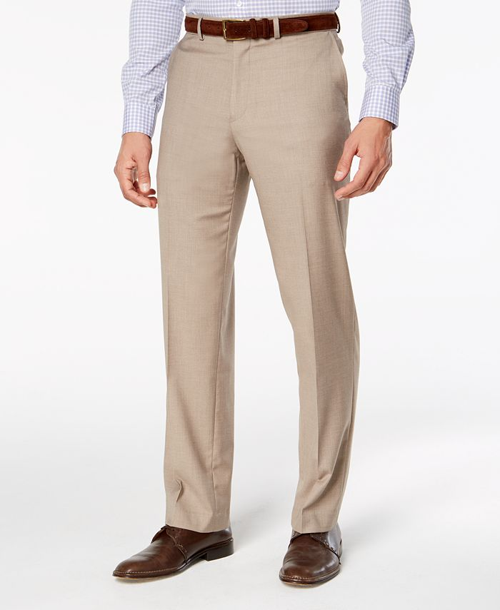 Dockers - Men's Straight-Fit Stretch Performance Flat-Front Dress Pants