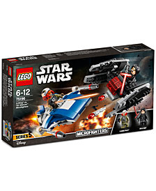 LEGO® Star Wars A-Wing vs. TIE SilencerMicrofighters 75196