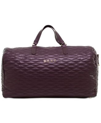 Allure Quilted Duffel Bag, Created for Macy's