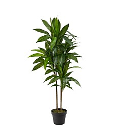"Nearly Natural 43"" Dracaena Real Touch Plant"