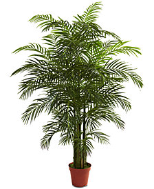 Nearly Natural 6.5' Areca Palm UV-Resistant Indoor/Outdoor Tree