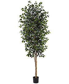 Nearly Natural 8' Ficus Tree