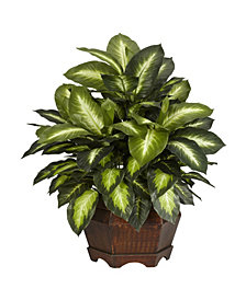 Nearly Natural Golden Dieffenbachia Plant