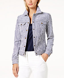 Trina Turk Pismo Striped Jacket