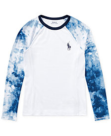 Polo Ralph Lauren Printed Rash Guard, Big Boys