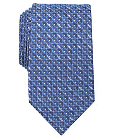 Perry Ellis Men's Yenick Neat Silk Tie