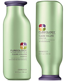 Clean Volume Shampoo & Conditioner (Two Items), 8.5-oz., from PUREBEAUTY Salon & Spa