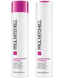 Super Strong Shampoo & Conditioner (Two Items), 10.14-oz., from PUREBEAUTY Salon & Spa