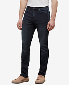 Kenneth Cole New York Men's Dark Indigo Straight-Fit Jeans