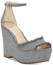 Vince Camuto Tatchen Platform Wedge Sandals