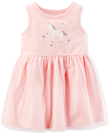 Carter's Baby Girls Unicorn-Print Sundress