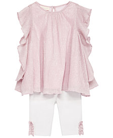 First Impressions Baby Girls 2-Pc. Tunic & Leggings Set, Created for Macy's
