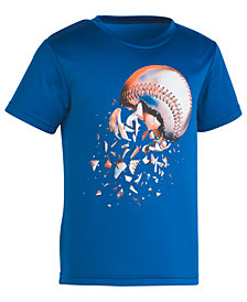 Under Armour Baseball-Print T-Shirt, Little Boys