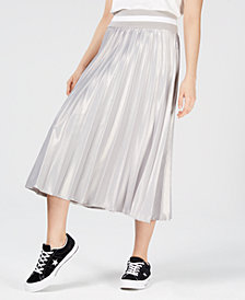 NICOPANDA Pleated Midi Skirt, Created for Macy's