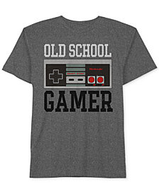 Old School Gamer Men's T-Shirt by Hybrid Apparel